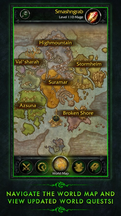 Download WoW Legion Companion App