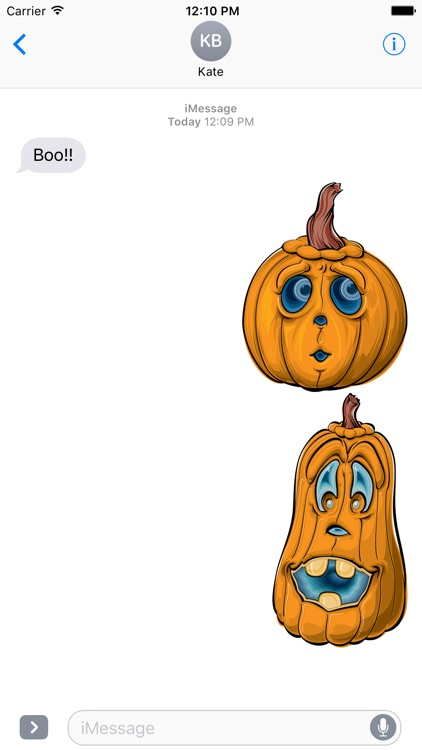 Halloween Animated stickers for iMessage