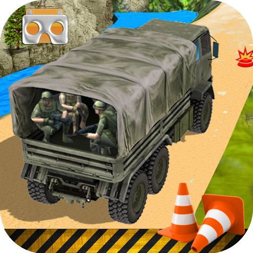 Vr Army Trucker Drive : Deadly Track Par-king