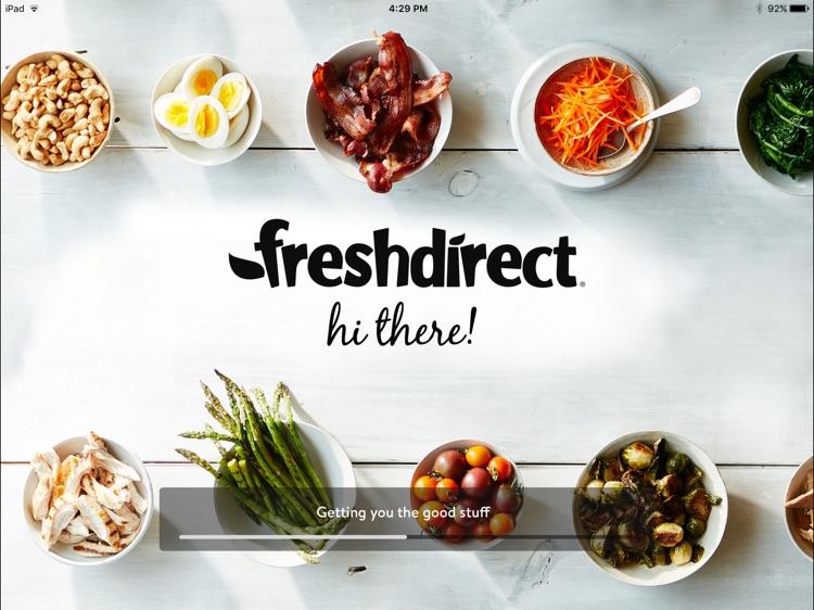 FreshDirect for iPad