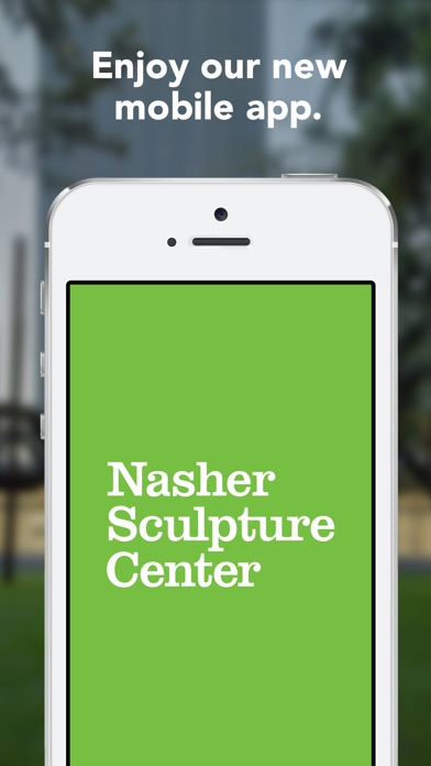 Image of Nasher Sculpture Center for iPhone