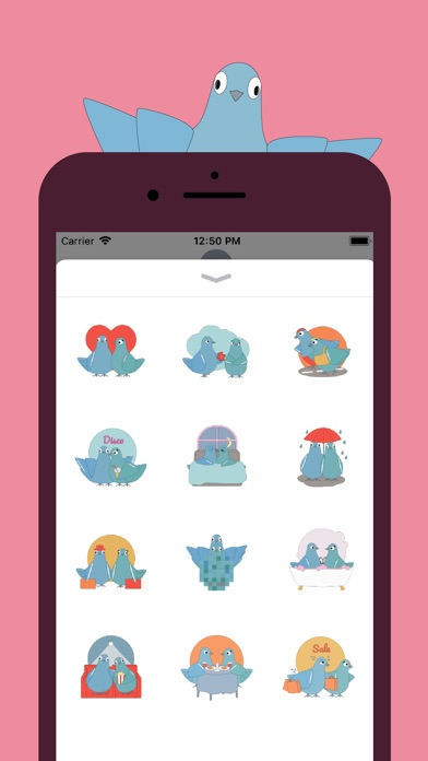 Screenshot for Love Pigeons in Germany App Store