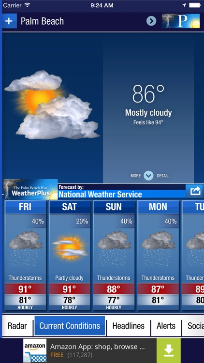 Palm Beach Post WeatherPlus