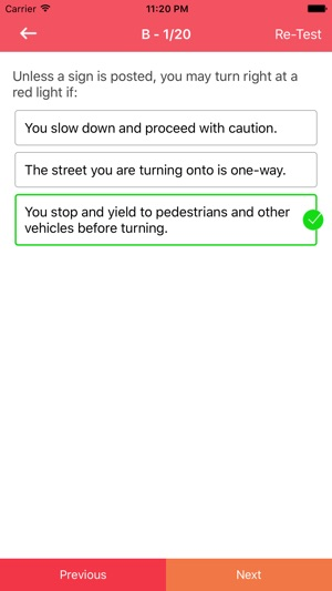 state of iowa drivers license test