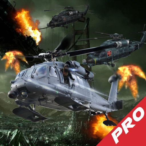 A Crazy Competition Copter In Flight Pro - A Helicopter Hypnotic X-treme Game