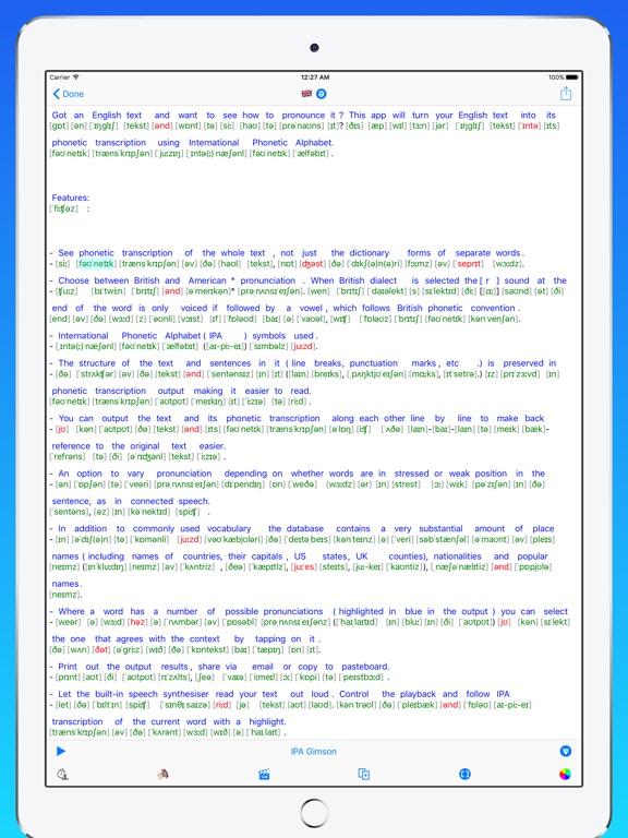 toPhonetics Converter Screenshots