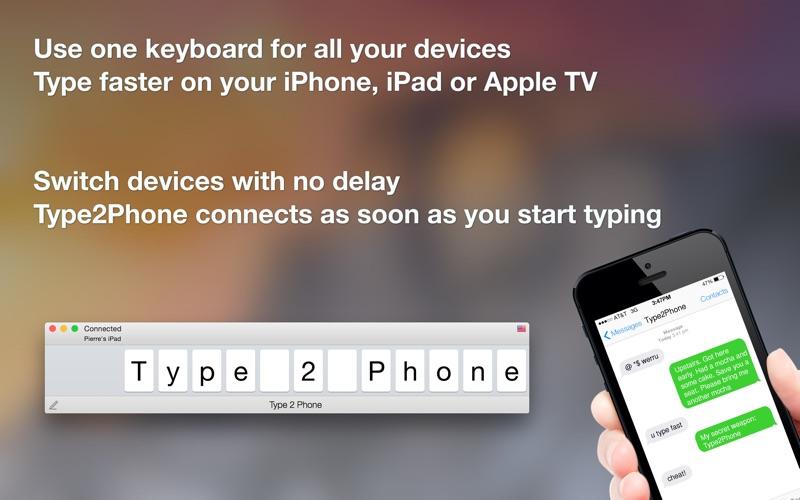 Utilisez le clavier de votre Mac sur votre iPhone-capture-1