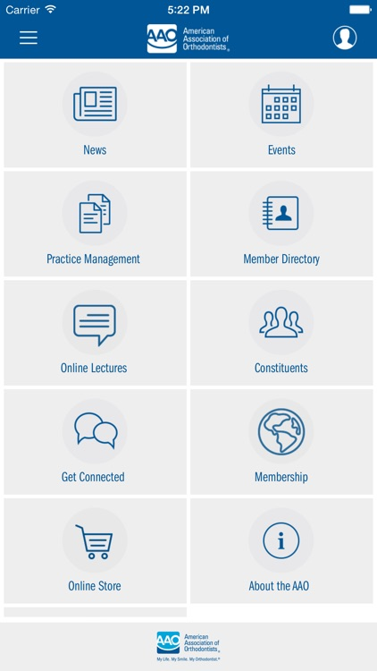 American Association of Orthodontists Member App