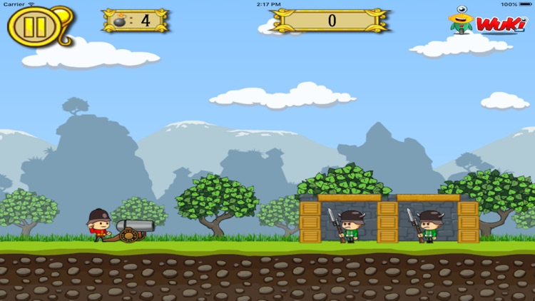 Soldiers Vs Cannons screenshot-4