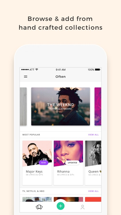 Often - Create & share your own keyboard with GIFs, Photos, & Quotes screenshot-3