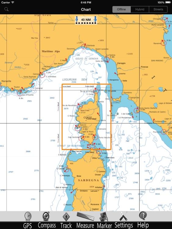 Corse GPS Nautical Charts Pro screenshot-3