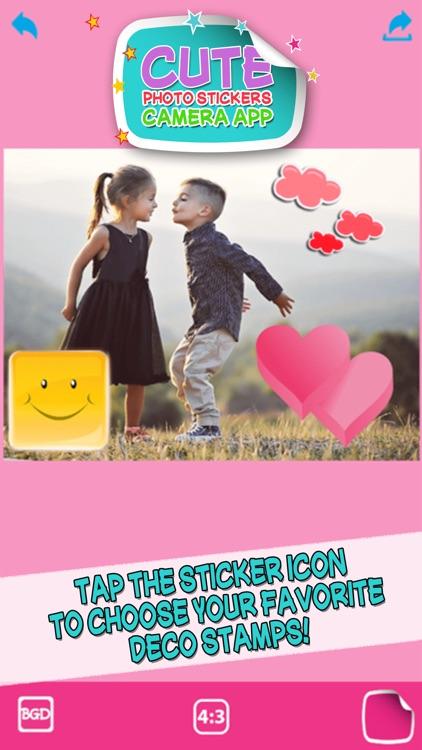 Cute Photo Stickers Camera App – Picture Editor screenshot-3