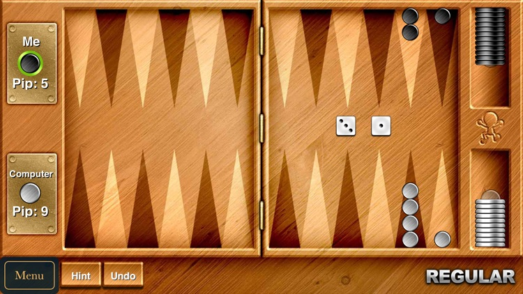 Backgammon - Challenging Board & Dice Game