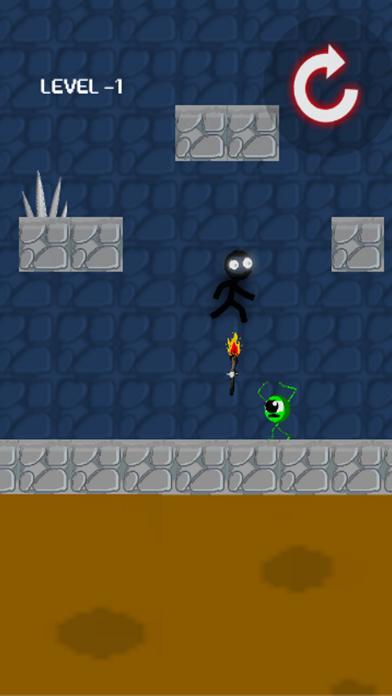 Walking black screenshot two