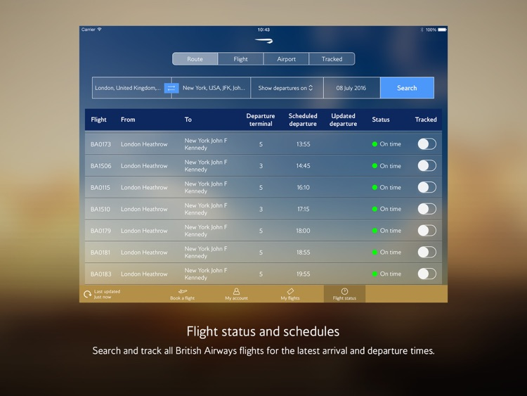 British Airways for iPad screenshot-3