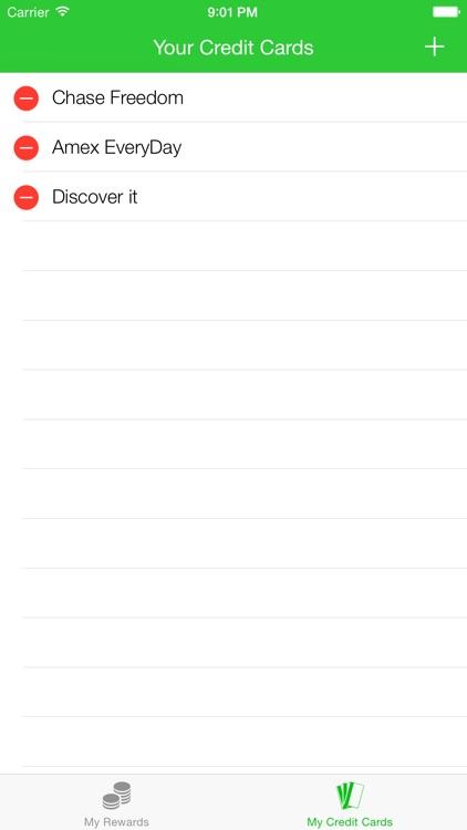 Reward Me - Credit Card Cash Back Tracker screenshot-4