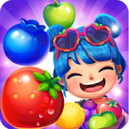 Doodle Fruit jam Splash heroes - Match and Pop 3 Blitz Puzzle : New Version Pocket Game