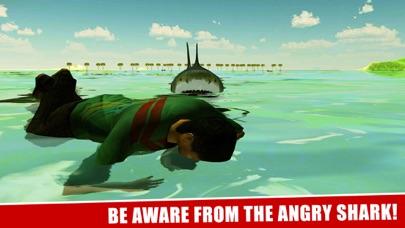 サメの攻撃シミュレータ3Dグレートホワイトフィッシュの戦いのスクリーンショット3