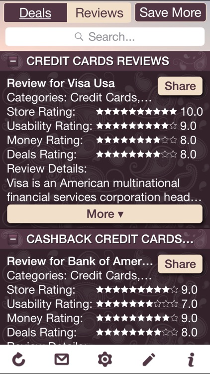 Credit Card Deals & Credit Card Store Reviews