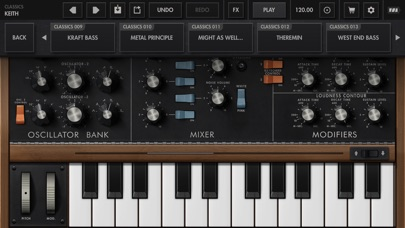 Minimoog Model D Screenshot 4