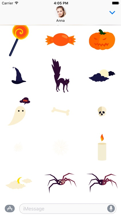 Trick or Treat Pack 1 - Happy Halloween Stickers