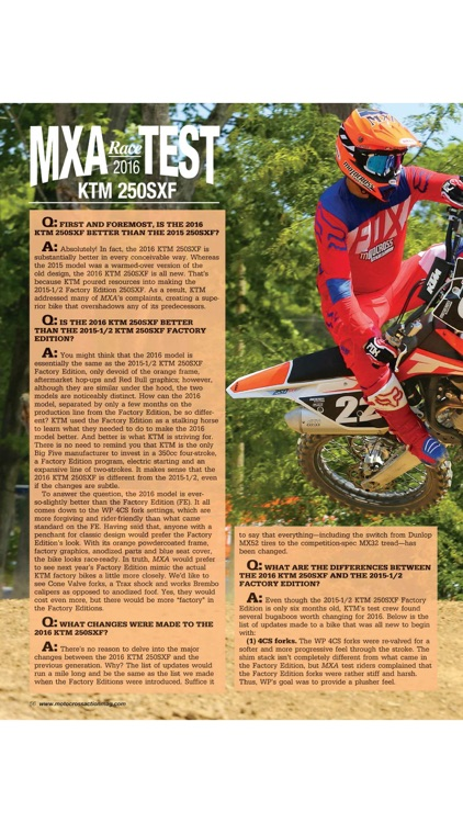 Motocross Action Magazine screenshot-3