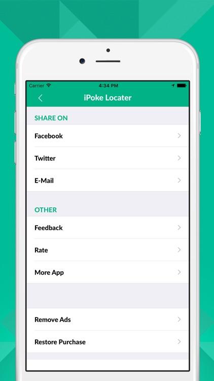 iPoke Locator for Pokémon GO screenshot-3