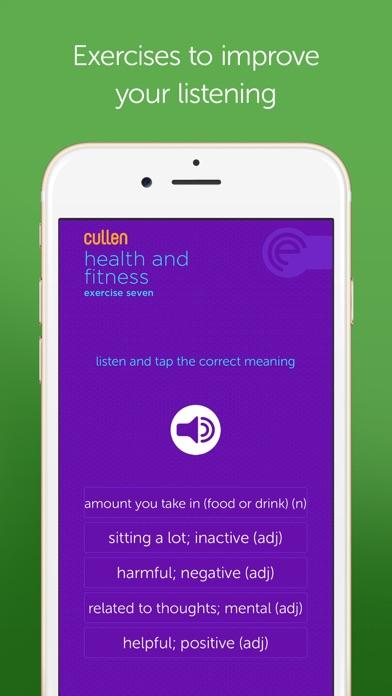 Screenshot for Cullen IELTS 8+ in Pakistan App Store