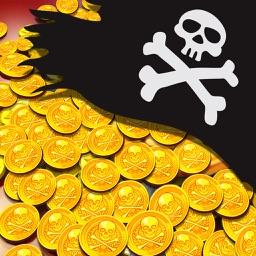 Pirate King Coin Dozer Golden Treasure Game PRO