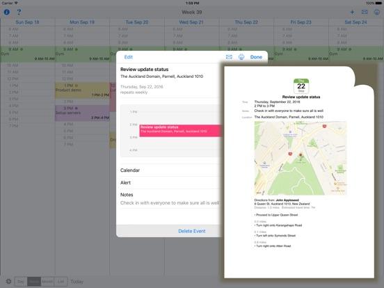 CalPrint Screenshots