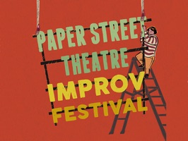Send your friends stickers to celebrate Paper Street Theatre's 3rd Annual Improv Festival