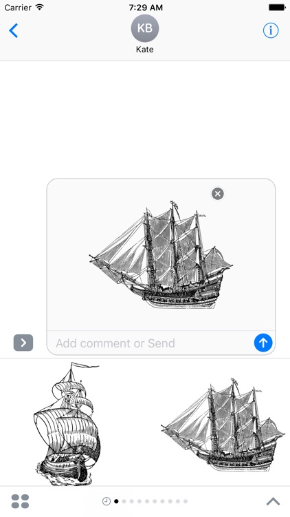 Boats Stickers