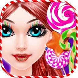 Christmas Candy Makeup Salon - Game for Girls
