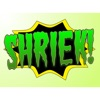 Shriek! Spooky Sound Comic Bubbles