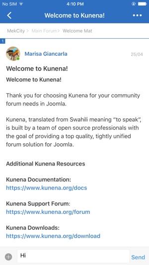 Mek City Forum on the App Store