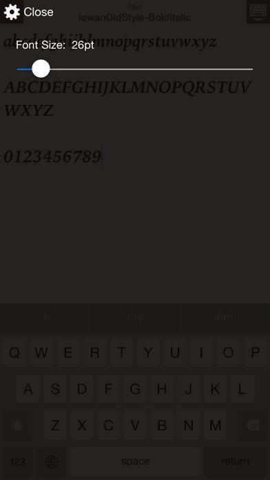 FontCatalog ScreenShot3
