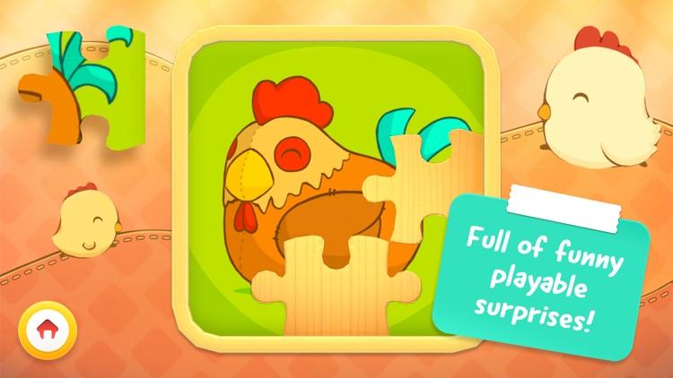 Toddler Animal Puzzle – Game for children (Free) screenshot-4