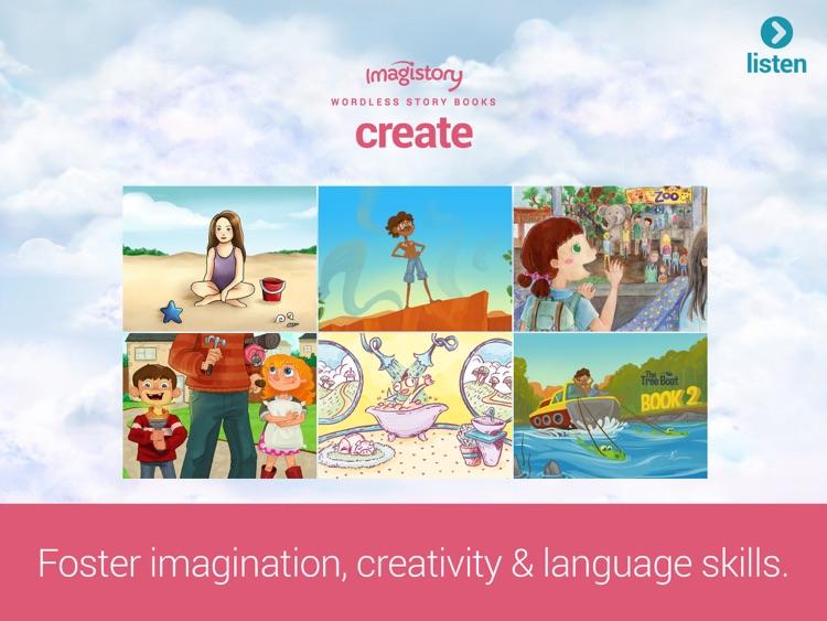Imagistory - Creative Storytelling App for Kids screenshot-3