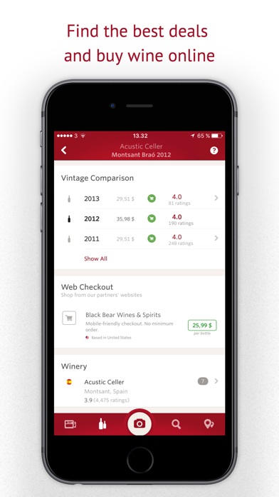 Screenshot for Vivino: Buy the Right Wine in India App Store