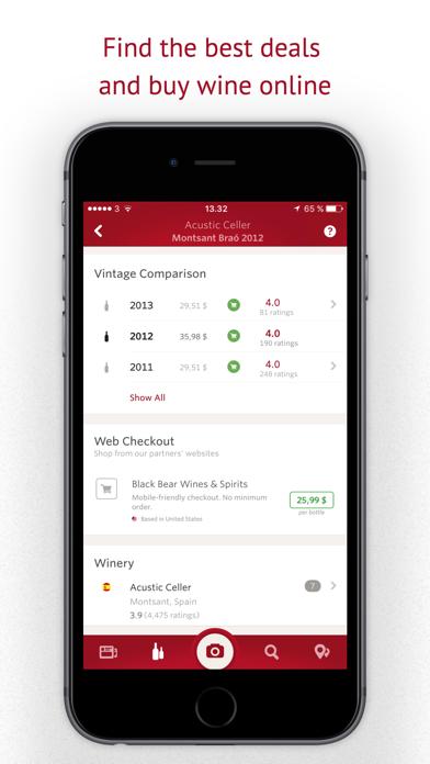 Screenshot for Vivino: Buy the Right Wine in Belgium App Store