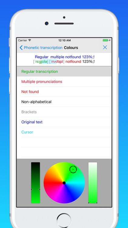 toPhonetics English Phonetic Transcription screenshot-3
