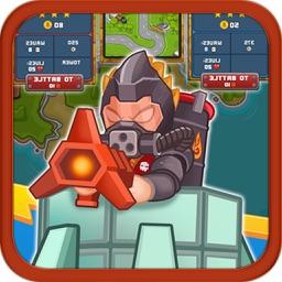 Toy Defense - Warrior Tower TD