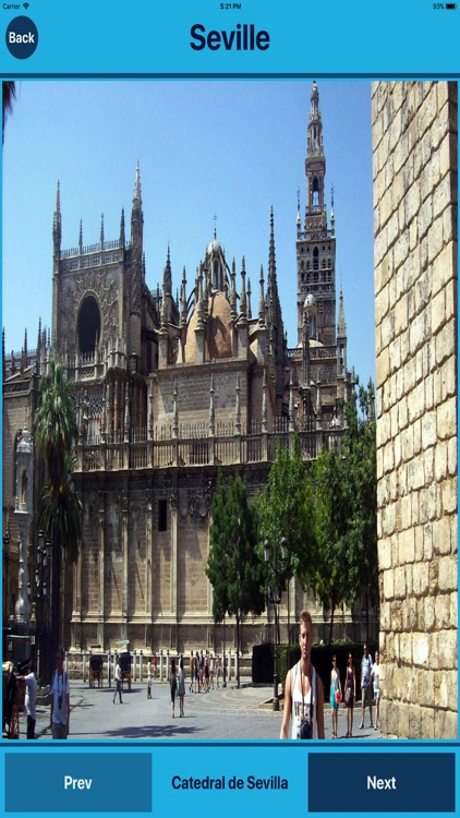 Seville Spain, Tourist Places
