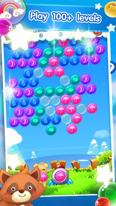 Bear Shooter Rainbow screenshot one