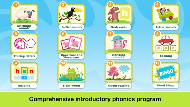 ‎Phonics Fun on Farm Educational Learn to Read App