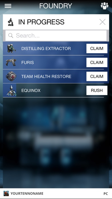 Screenshot for Warframe in United States App Store