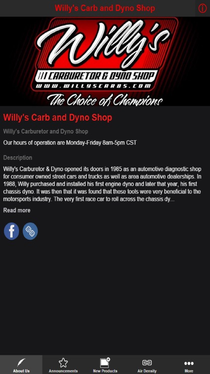 Willy's Carb and Dyno Shop