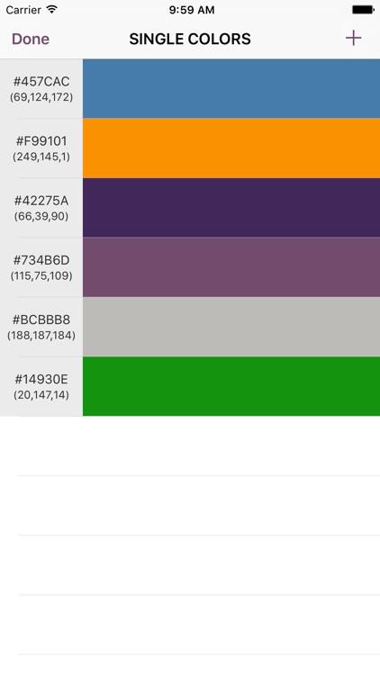 Colorfy - Capture and Convert Colors screenshot-0
