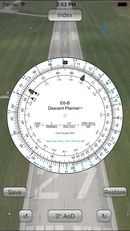 E6B Descent Planner screenshot-2