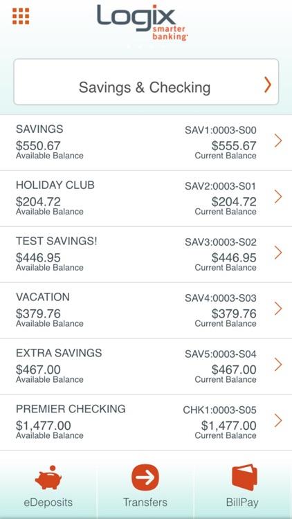 Logix Mobile Banking screenshot-3